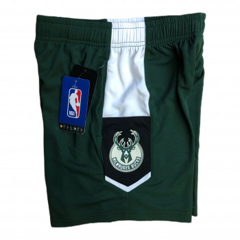 SHORTS BUCKS NBA